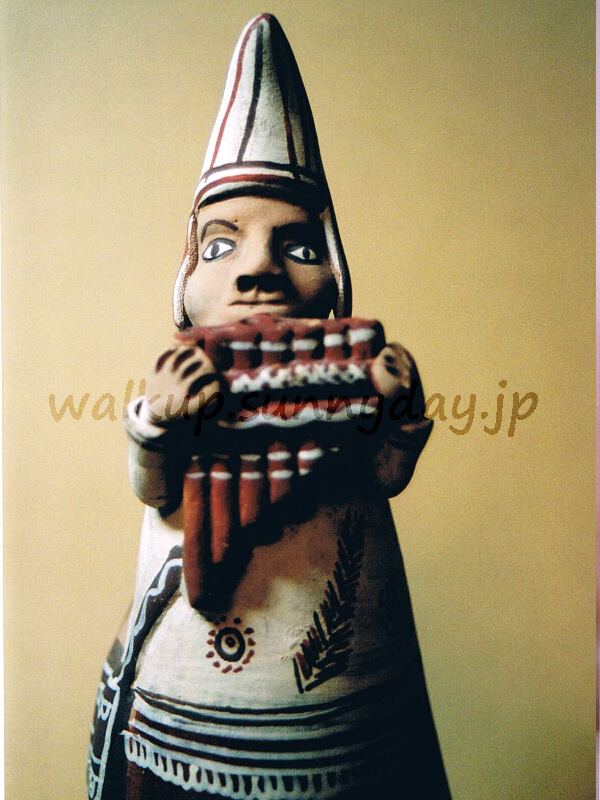 PERU_アンタラを吹くインディアン_Signed